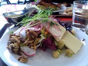Grymt god sallad från Café Voltaire