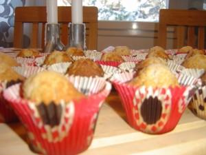 Små muffins