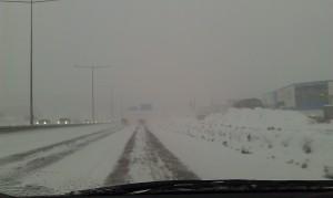 Snöigt värre