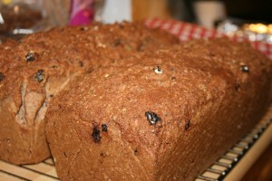 Drygt 4 kg bröd