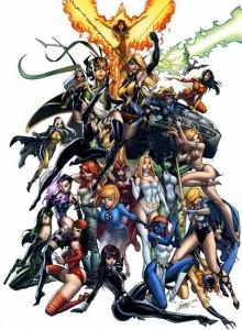 Marvels kvinnliga superhjältar