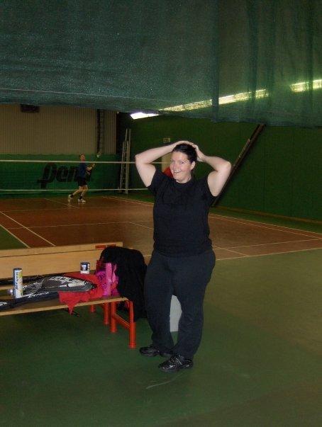Tess i rackethallen