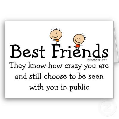 Vänner är bra att ha