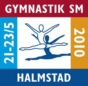 Gymnastik SM Logga