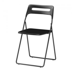 Klappstolen Nisse köpte jag
