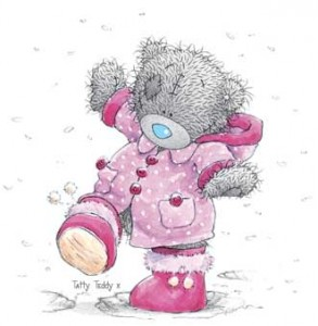 Snö kan ju va roligt!