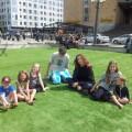 Lunchdejt på Medborgarplatsen